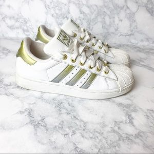 Adidas Gold Ombré Sneakers